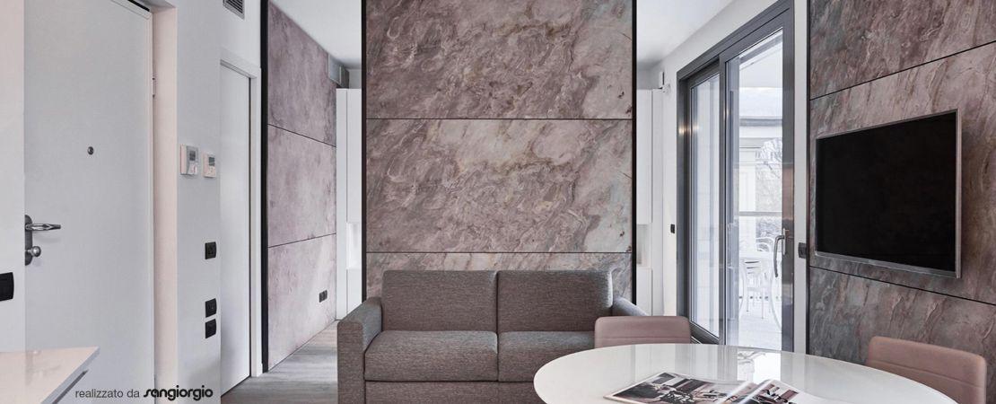rivestimento parete casa in pietra naturale SL Sunrock