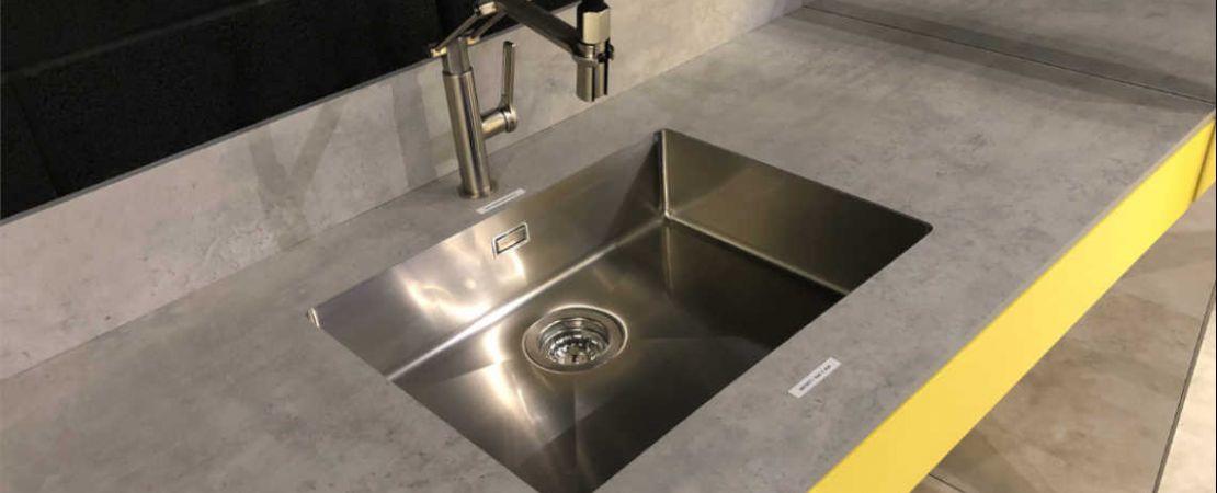 lavandino acciaio inox da incasso Edge Sinks