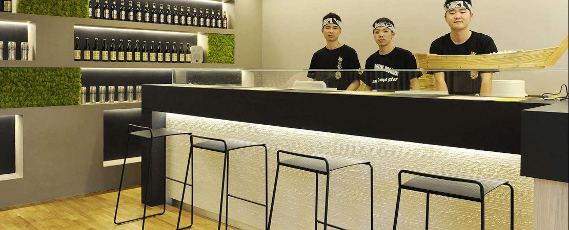 rivestimento eco sostenibile per bancone ristorante