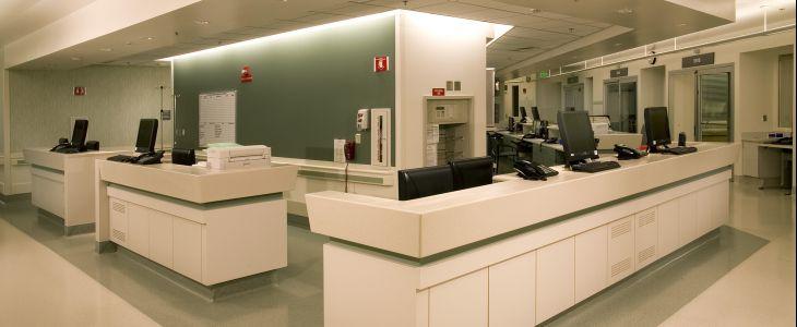 Reception ospedali