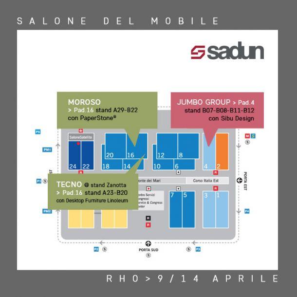Mappa social  salone-sito