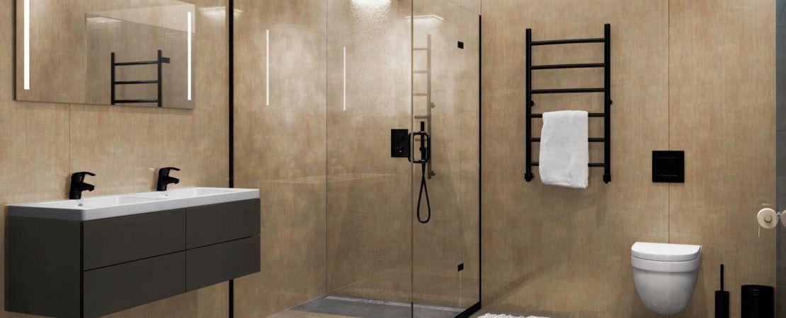 Rivestimento bagno moderno bath art
