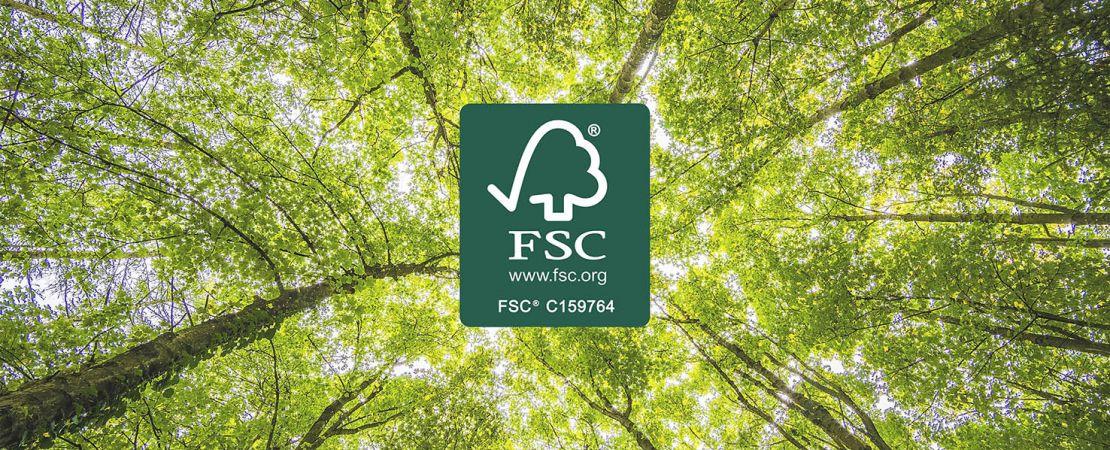 Ottobre 2020: siamo certificati FSC®