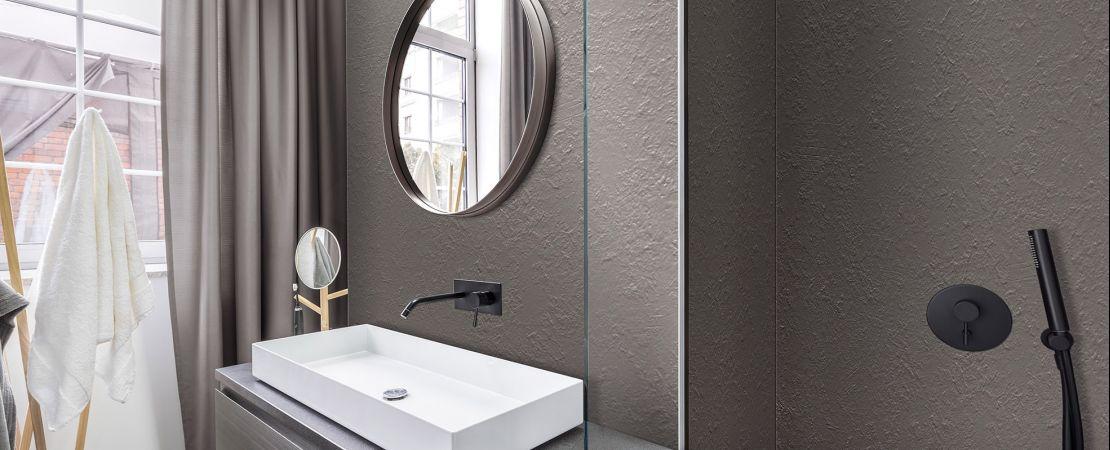 SL raw dark grey rivestimento pareti