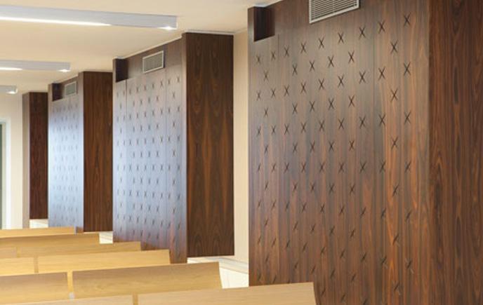 Pannelli legno per interni idee creative e innovative - Pannelli fonoassorbenti per interni ...
