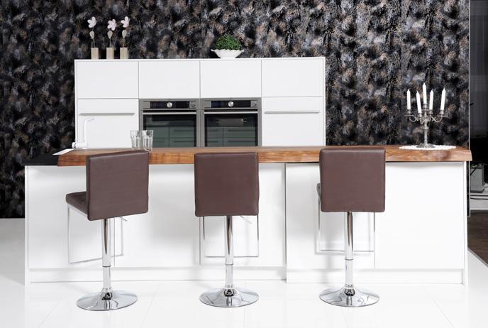 pannelli decorativi per Pareti riflettenti per cucine - Leather Line